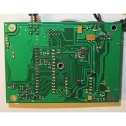 Bottom side of assembled modem
