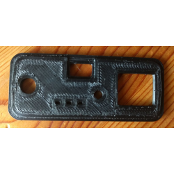 3D-printed front cover for...